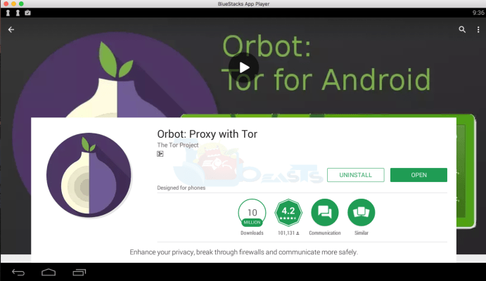 Orbot: Proxy with Tor