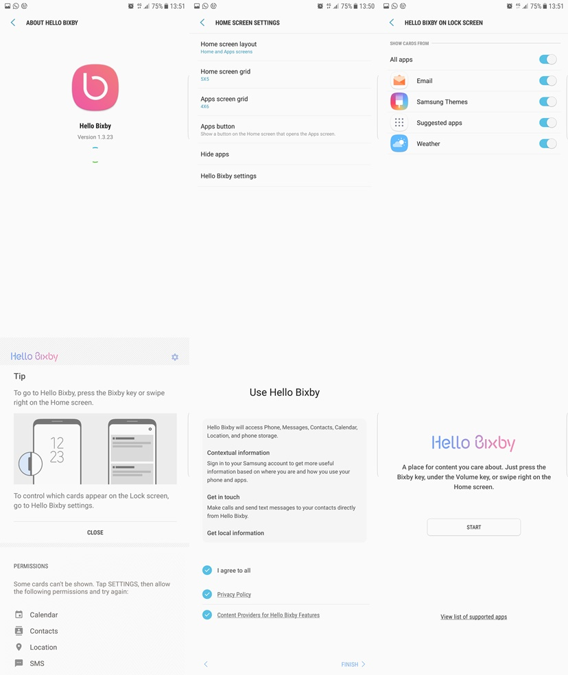 Download and install Bixby on Galaxy S6/S6 Edge/S6 Edge+/