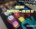 install Snapchat++ on iOS 10