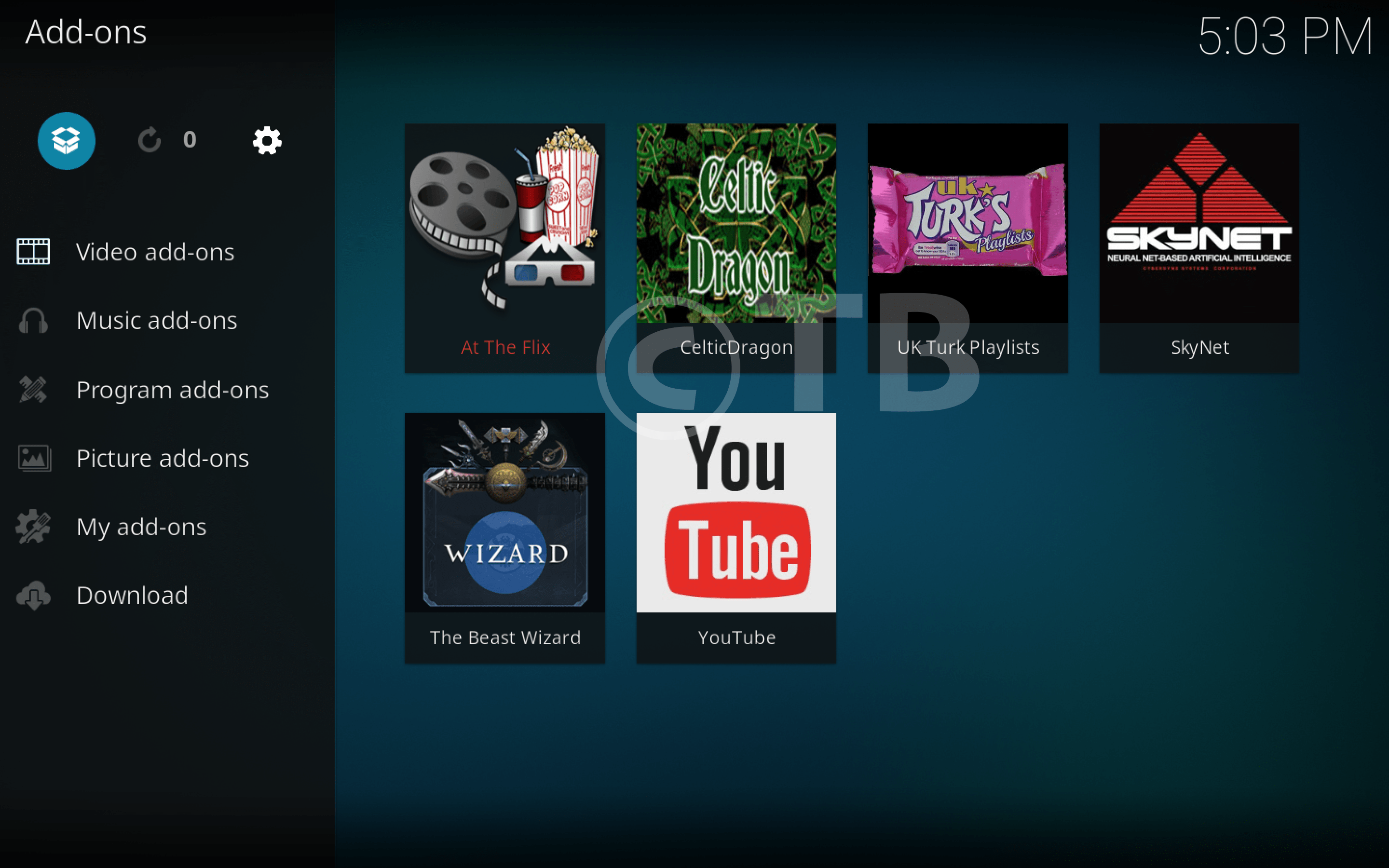 how to add kodi files