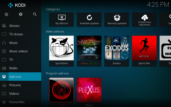 Install Pulse CCM Build Kodi 17 Krypton