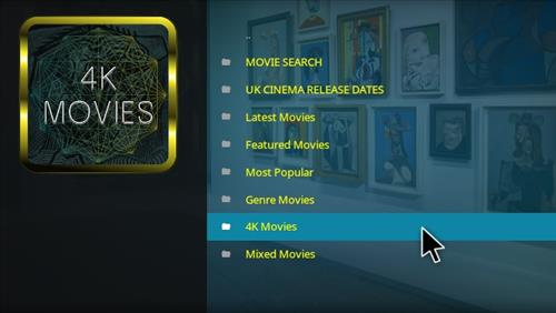 Top Best Kodi Movie Add-ons for 4K, Full HD, 3D Movies 2017