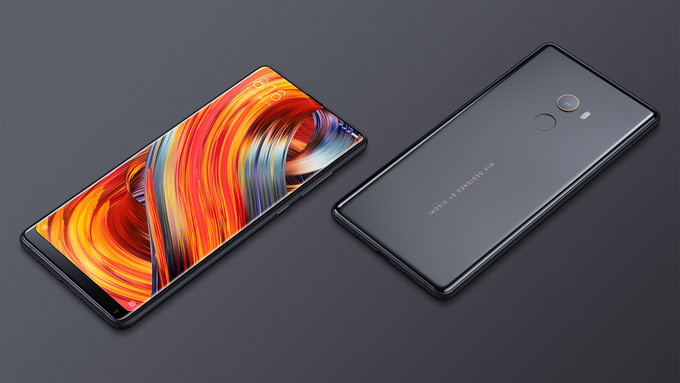 Xiaomi Mi MIX White Colour Variant Introduced At CES 2017