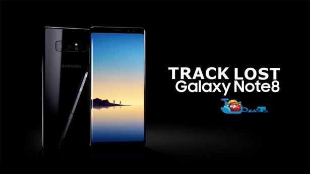 Locate Lost Galaxy Note 8 Remotely