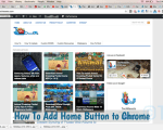Add Home Button to Chrome
