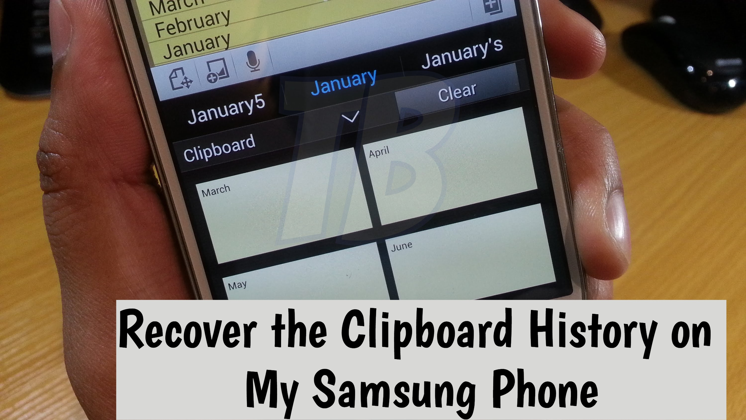 how to access clipboard on android