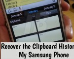 Recover the Clipboard History on My Samsung Phone