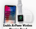 Enable AirPower Wireless Charging Sound