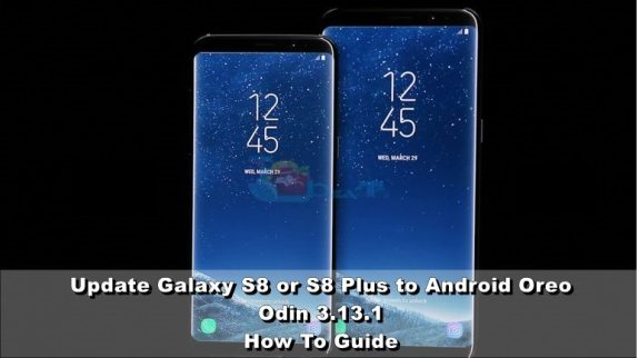 Update Galaxy S8/S8+ To Android Oreo with Odin