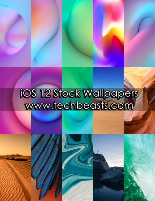 iOS 12 Stock Wallpapers