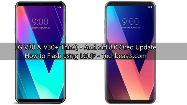 update LG V30/V30+ to Android Oreo