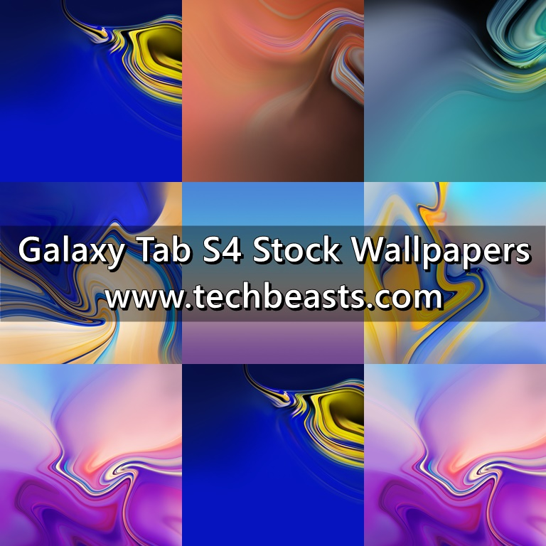 Download Samsung Galaxy Tab S4 Stock Wallpapers