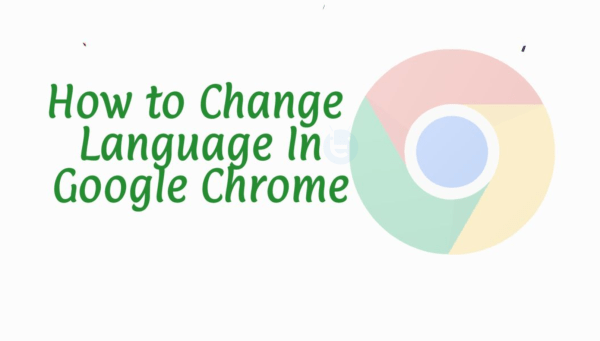 how to set language in google chrome