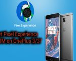 Pixel Experience ROM on OnePlus 3/3T