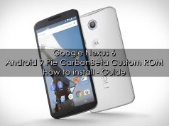 Android 9 Pie CarbonBeta ROM