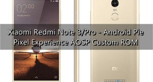 Android Pie on Redmi Note 3