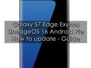 Update Galaxy S7 Edge to Android Pie