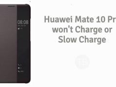 Huawei Mate 10 Pro won't charge