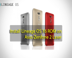 LineageOS 16 ROM on Asus Zenfone 2 Laser