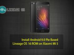 Lineage OS 16 ROM on Xiaomi Mi 5