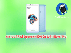 Pixel Experience ROM on Xiaomi Redmi Note 5 Pro