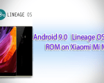 Lineage OS 16 ROM on Xiaomi Mi MIX