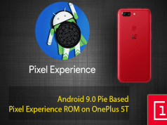 Pixel Experience ROM on OnePlus 5T