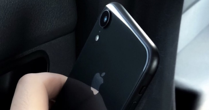 iPhone Xc or Xr makes an appearance