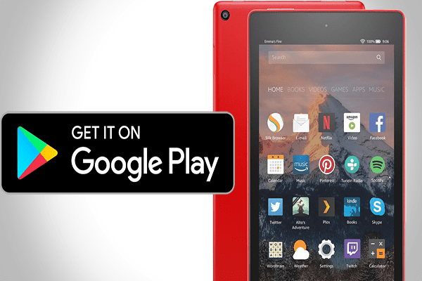 amazon fire tablet 8 google play store