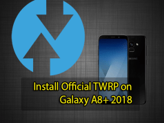 Install Official TWRP on Galaxy A8+ 2018