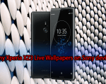 Sony Xperia XZ3 Live Wallpapers on Sony devices
