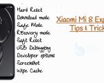 Xiaomi Mi 8 Explorer Tips