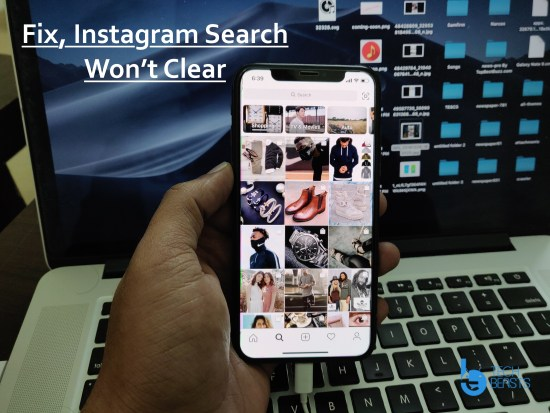 Instagram Search History Won't Clear