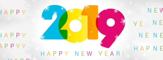 Happy New Year 2019 Facebook Cover