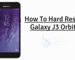 Hard Reset Galaxy J3 Orbit
