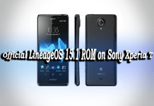 Install Official LineageOS 15.1 ROM on Sony Xperia T