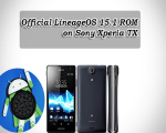 Install Official LineageOS 15.1 ROM on Sony Xperia TX