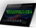 Install Official LineageOS 15.1 ROM on Sony Xperia Tablet Z Lte/Wi-Fi