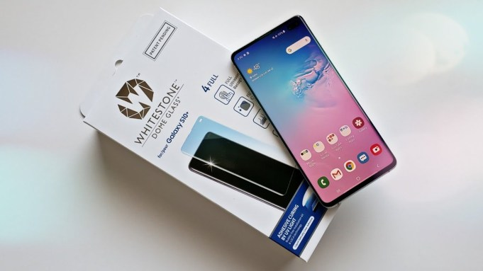 Whitestone Dome Screen Protector for Galaxy S10 and S10 Plus
