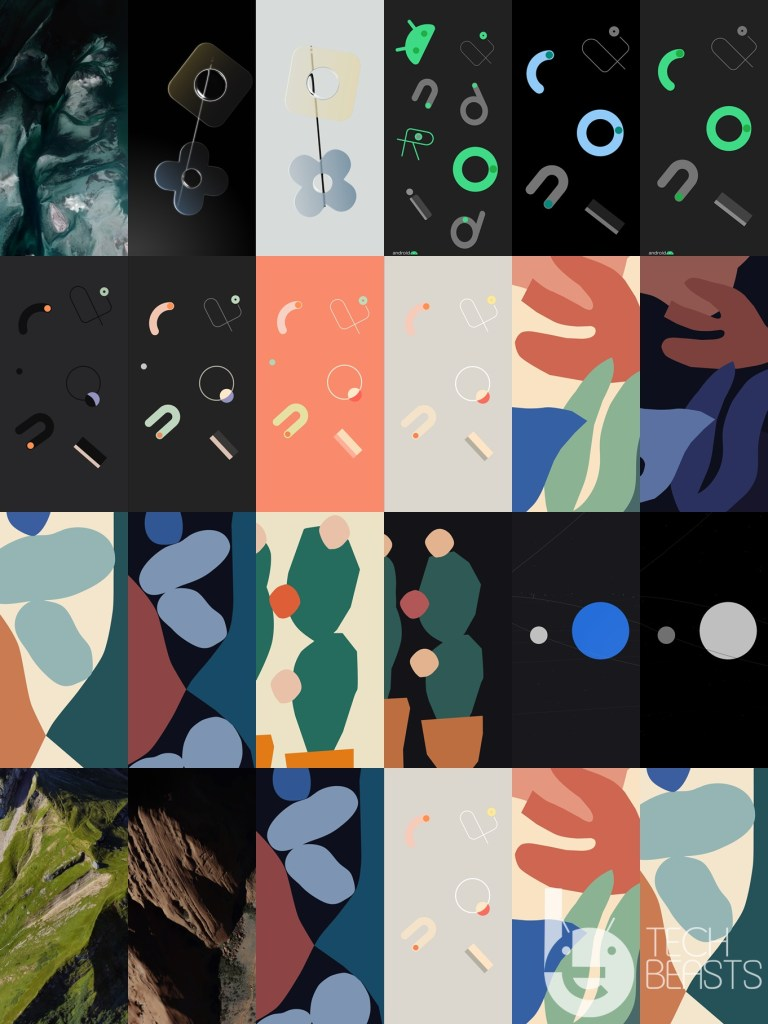 Google Pixel 4XL Stock Wallpapers
