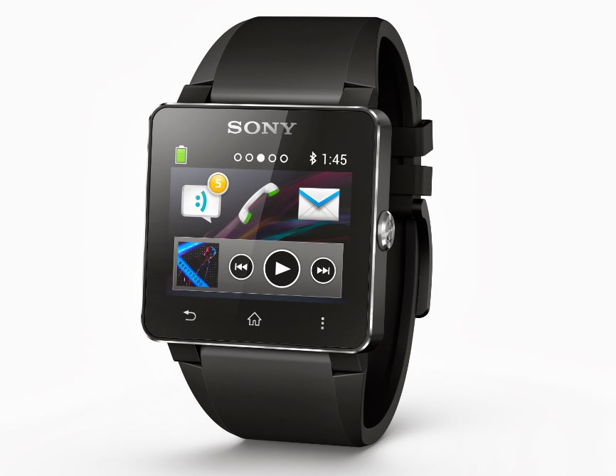 Water-resistant Sony SmartWatch 2 Unveiled