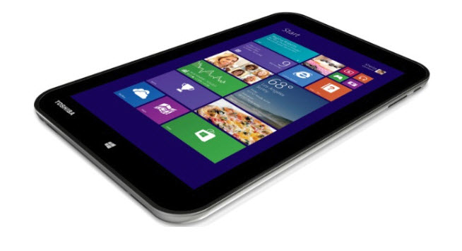 Toshiba Unveils 8 inch Windows 8.1 Encore Tablet