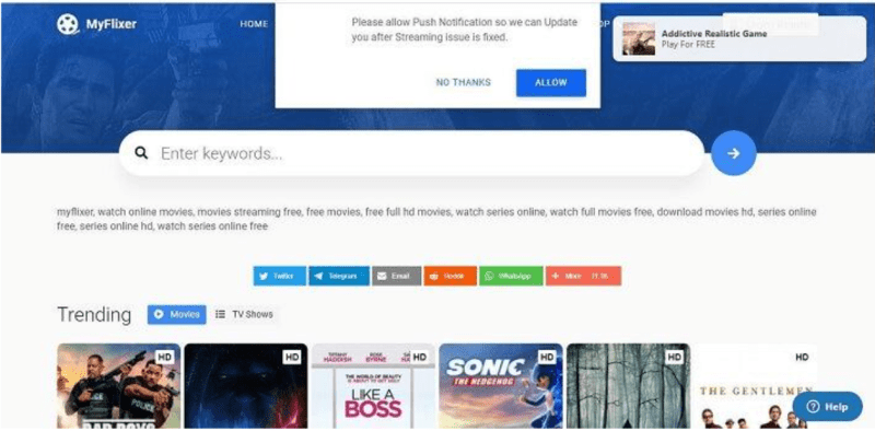 MyFlixer 2021: Watch Movies And Series On Myflixer Online