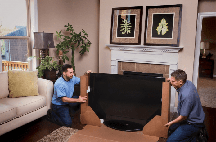 How to Pack TV for Moving
