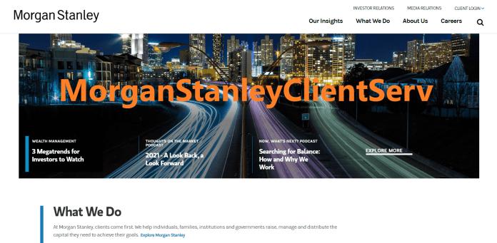 MorganStanleyClientServ