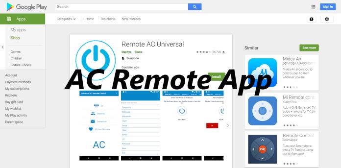 AC Remote App