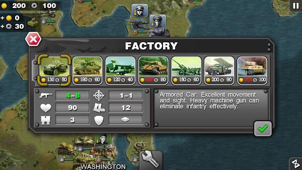 Generals Mod APK The glory of unlimited money
