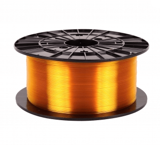 Filament PM transparent gul PETG