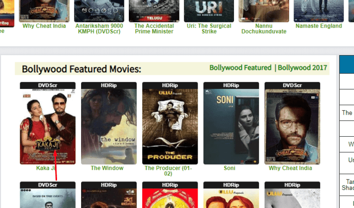 select movie download site