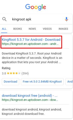 download king root